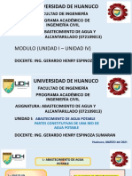 PARTES DE UN SISTEMA DE AGUA POTABLE