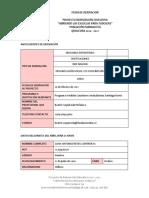Ficha Derivación Proyecto Reinserción (Quilicura) Juan Reyes