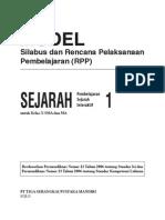 RPP Sejarah Interaktif SMA 1