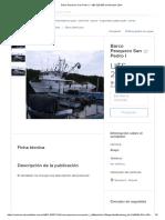 Barco Pesquero San Pedro I - U$S 220.000 en Mercado Libre