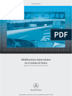 Mercedes-Benz Service. Modificaciones Einnovaciones en El Sistema de Frenos Modelo 374, 375, , , ,