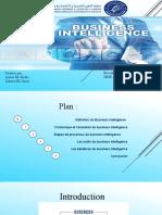 Thème 4 Présentation ppt Business Intelligence