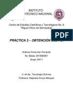 Práctica 3-Obtención Del HCl_Arellano Flores Iker_6IV11
