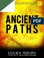 Ancient Paths - Lucky Ndupu