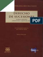 Derecho de Sucesiones Sexta Edición, Sonia Segura