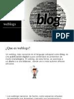 WEBLOGS PRESENTACIÓN