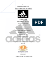 ADIDAS PROJECT ON BRAND MARKETING1