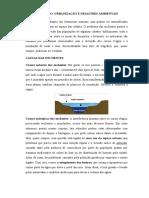 URBANIZAÇÃO E DESASTRES AMBIENTAIS