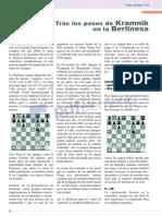 Tras los pasos de Kramnik en la Berlinesa