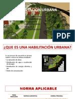 HABILITACION URBANA CONSTRUCCION
