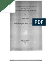 77748586 Povina Alfredo 1945 Sociologa Del Folklore