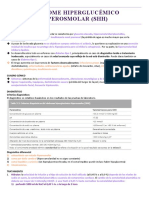 Síndrome hiperglucémico hiperosmolar