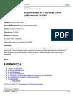 Sentencia C 1495 de 2000