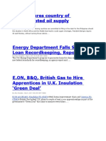 World Energy News for Today - March 08, 2011