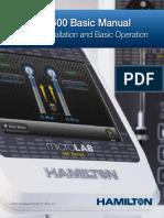 (Diluter)Microlab 600 Basic User Manual