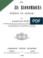 Les Doctrines Economiques Depuis Un Siecle 000000592