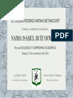 Diploma ExcelenciaNR