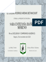 Diploma excelenciaSI