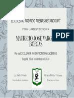 Diplomas excelenciaMV