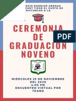 Graduación novenos