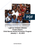 Project Ghana 2010 Report