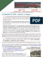 Lassac officiel billet n° 22  du 8 mars 2011