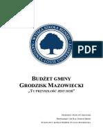 Bud Et Grodzisk.pdf; Filename= UTF-8''Budżet Grodzisk