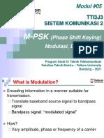 Modul 5 Siskom2 MPSK ALY