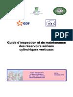 Guide d inspection et de maintenance des réservoirs aériens cylindriques verticaux