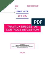 TD CONTROLE DE GESTION