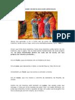 A realidade secreta dos 12 apóstolos