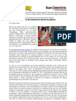 Sylvia Ubal-En el mundo sigue la discriminación laboral de género