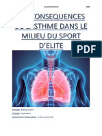 TM about Asthma and sport
