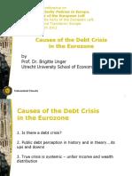 B. Unger - Debt Conference