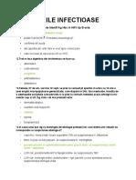 Model GRILE BOLI INFECȚIOASE