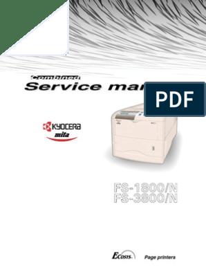Kyocera FS-1800, 3800 Service Manual | Electromagnetic