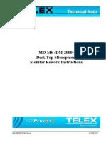 Mn-dispatch-005 Dm2000 Monitor Modification Note