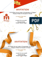 INVITATION DAR BOUAAZA AL MANZAH