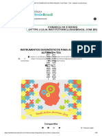 Instrumentos Diagnósticos Para Avaliar o Autismo - Tea - Instituto Inclusão Brasil