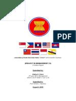 ASEAN A written Report in Management 21