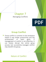 Chapter 7 Managing Conflicts (1)
