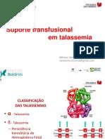 Suporte Transfusional Em Talassemia (1)