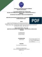 Tesis Selene, Primera Revisión 18 de Marzo 2021