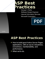 ASP Best Practices