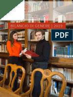 Bilancio Genere Universita Di Bologna 2019