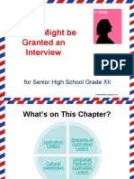 Chapter 4 Application Letter