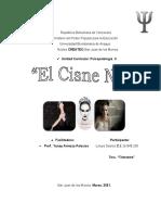 """""""CISNE NEGRO"""" Analisis Película ( Psicopatología II)"""