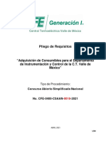 Pliego de Requisitos  Consumibles Depto Inst y Cont  CTVM
