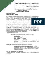 Modelo-de-demanda-civil-de-indemnizacion-por-danos-y-perjuicios-Jose-Maria-Pacori-Cari