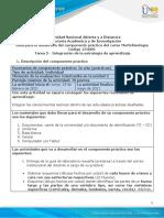Guía para el desarrollo del componente práctico - Unidad 3 - Tarea 5 - Integración